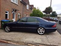 Spair or Repair Mercedes S500 L 1999 Year