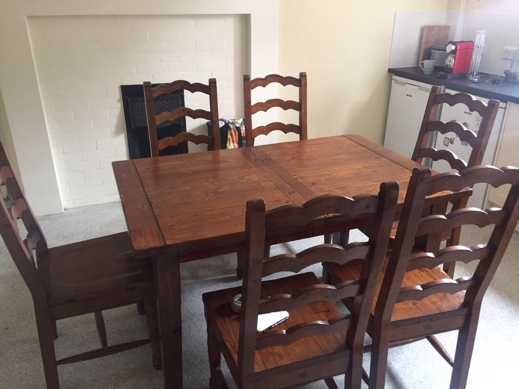 Irish Coast Collection Dining Room Table And Chair Set