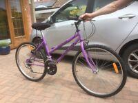 """Gemini outrider bike bicycle ladies teenager 26"""" wheels 16"""" Frame"""