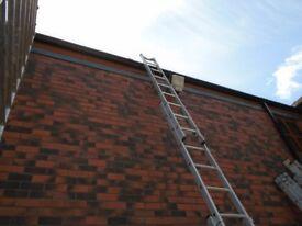 triple trade site ladder 6.2m working
