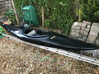Kayak - Black Prijon, 3m in excellent condition