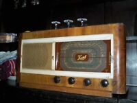 bush & kent valve radios