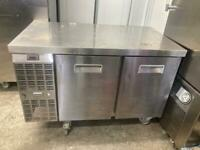Commercial bench counter pizza fridge for shop pizza meat hfdds