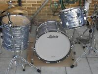 ludwig classic maple in sky blue shell pack ,new