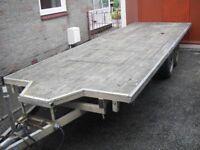 Blueline 19x 6 feet bed 4 wheel trailer