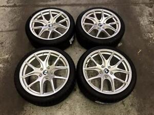 18 Avante Garde Wheels 5x120 and Winter Tires 225/40R18 (BMW 3 Series) Calgary Alberta Preview