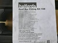 Vauxhall astra mk4 astra g roof bars (fits other vehicles)