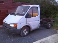 Transit mk3 2.0 petrol single wheeler breaking for spares and parts