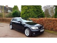 2004 BMW 118d BLACK 5 DOOR NATIONWIDE DELIVERY WARRANTY CARD FACILITY AVAILABLE