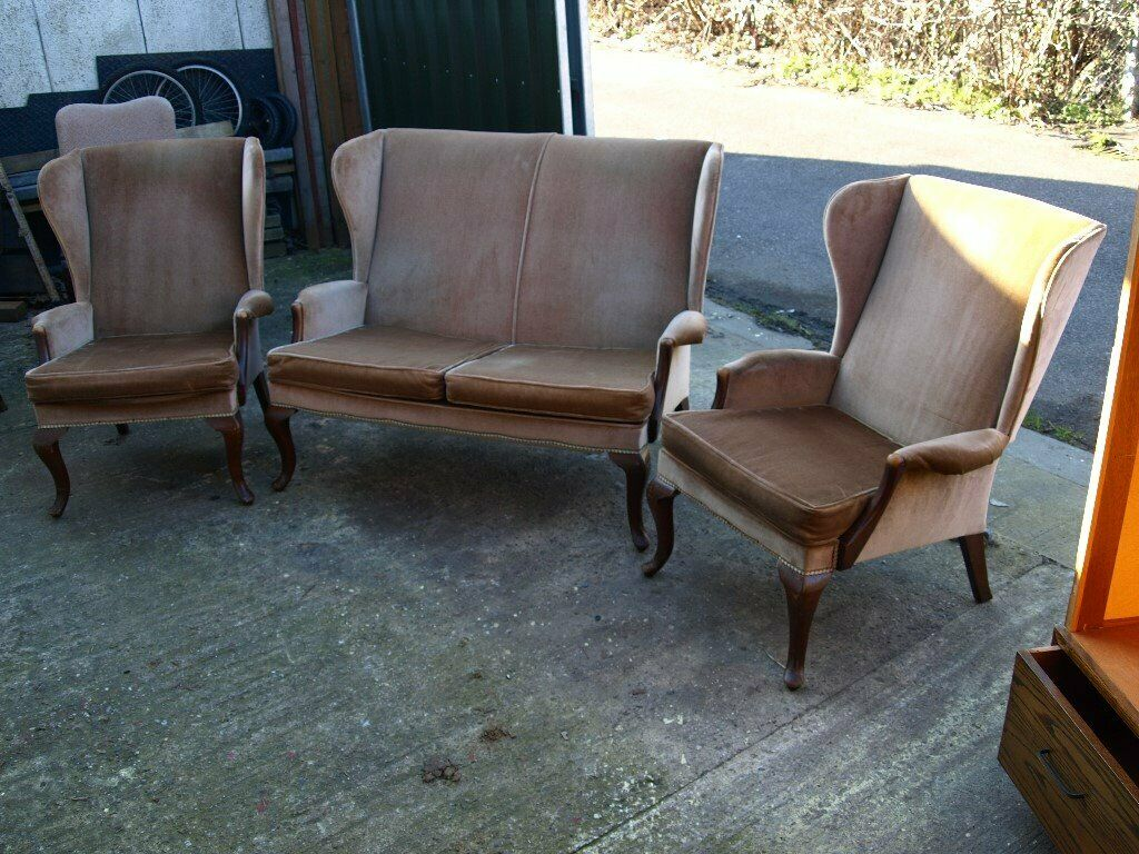 Parker knoll three piece suite free delivery up to 75 miles from taunton somerset