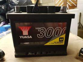 12v Yuasa Car Battery