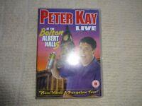 Peter Kay DVD ( LIVE at the Bolton Albert Hall )