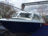 Microplus 20ft project boat only