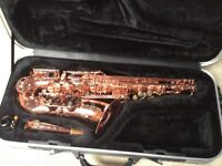 Orpheo Signature Alto Saxophone in Copper Brass ( Rose Gold )
