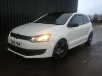 2010 Volkswagen Polo 1.2 S 3dr White, Coil Overs, Tinted Windows, Alloy Wheels, Finance Available