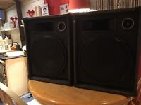 "Disco speakers 15"" (1000 watts of power) £150 x x x x x x x x x x x x x x x x x x x x x x x x x x x"