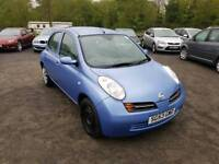 Nissan micra se 1.2L 5DR Automatic long mot excellent condition