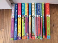 Collection of Roald Dahl books for children