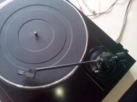 Vintage Sanyo vinyl record player