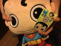 Superman Plush Backpack With Cape