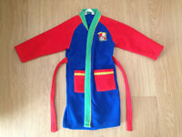 Bob the builder dressing gown Ladybird 4-5 years £4.00