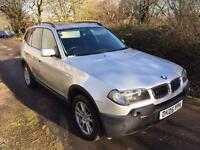 2005 BMW X3 DIESEL SE SILVER MANUAL FULL SERVICE HISTORY