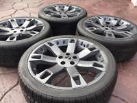 """22"""" Land Rover Range Rover Discovery Refurbished Alloy wheel & Tyres"""