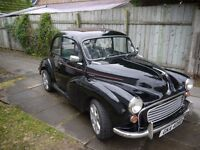 Morris Minor(1964) excellent condition. A few modifications. See photos.