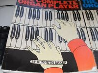 Complete organ player tuition books for keyboard enthusiasts