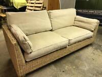 Conservatory or sun room sofa