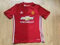 ** Kids Manchester United Football T-Shirt Age 11-12 ** Ibrahimovic **