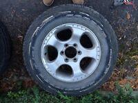 4x4 alloy wheels and tyres hilux navara l200 ranger frontera
