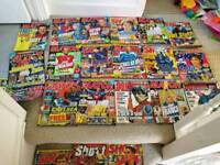 21 match, shoot, 90 minutes magazines from 1996, 1997, 1998