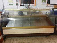 Serve Over Counter Display Fridge Meat Chiller 200cm 6.5ft