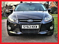 16800 Miles -- 2013 Ford Focus 1.0 SCTi EcoBoost Zetec -- (£30 Tax) -- HPi Clear --Low Mileage PX OK
