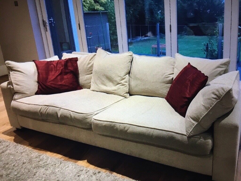 Collins and Hayes sofa set 3 and 5 seater great condition purchased from new