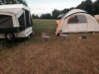 2004 Colemen tent trailer
