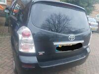 Toyota corolla verso auto