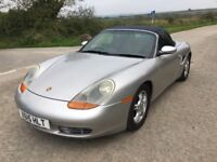 Porsche Boxter 2.7, Year 2000, Low mileage.