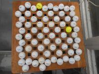 70 mixed brand golf balls £10 good cond.