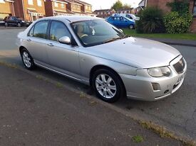 Selling my faithful Rover 75 CDTI Connoisseur, SILVER, Saloon
