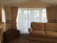 2017 SITE FEES INCLUDED ON THIS AMAZING ONE BEDROOMED CARAVAN. CHURCH POINT. NORTHUMBERLAND.