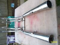 kawasaki GT550 Exhaust Pipes