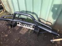 Land Rover defender tubular bumper