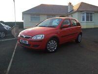 2005 Vauxhall Corsa 1.2 i 16v Life 5dr +++ only 81k miles fsh +++