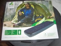 jilong flocked single airbed brand new