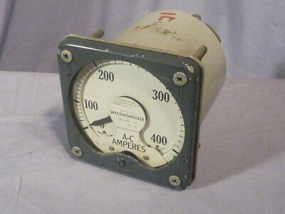 Westinghouse Ac Ammeter Amp Meter Type K A-24
