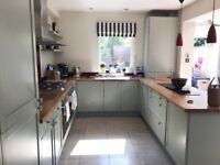 13 units used hand painted kitchen for sale