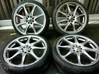 "19"" ALLOY WHEELS WITH TYRES, MINI, FORD, HONDA, FIESTA, RENAULT, HONDA, YARIS, T"