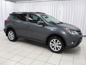 2015 Toyota RAV4 WOW!! RARE FULLY LOADED LIMITED AWD TRIM PACKAG